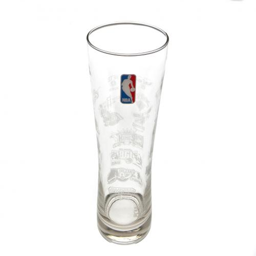 NBA Tall Beer Glass