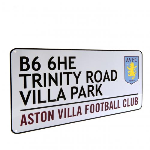 Aston Villa F.C. Street Sign TR