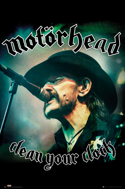 Motorhead Clean Your Clock Maxi Poster
