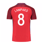 2016-17 England Away Shirt (Lampard 8)