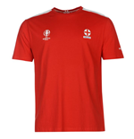 England UEFA Euro 2016 Core T-Shirt (Red)