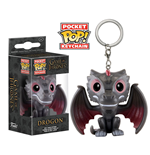 Game of Thrones POP! Vinyl Keychain Drogon 4 cm