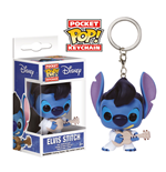 Lilo & Stitch Pocket POP! Vinyl Keychain Elvis Stitch 4 cm