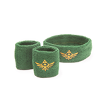The Legend of Zelda Sweatband 3-Set Logo