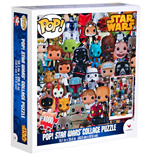 Star Wars POP! Jigsaw Puzzle Collage (1000 pieces)