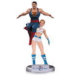 DC Comics Bombshells Statue Power Girl & Superman 35 cm