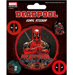 Marvel Comics Vinyl Sticker Pack Deadpool (10)