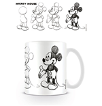 Mickey Mouse Mug Sketch Process