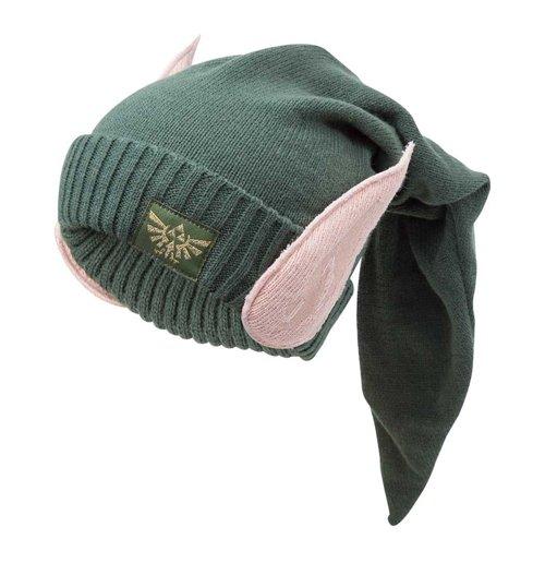 0df94df5b4d Caps the legend of zelda nintendo legend of zelda eleven beanie hat with  ears one size
