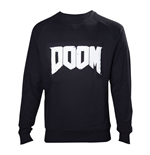 DOOM Men's Logo Sweater, Medium, Black