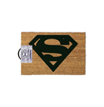 DC COMICS Superman Logo Door Mat, Tan