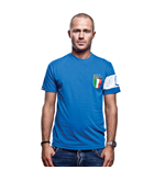 Il Capitano T-Shirt // Blue 100% cotton