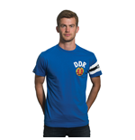 DDR Captain T-Shirt // Blue 100% cotton