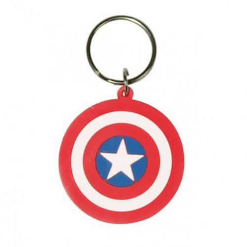 Captain America Keyring Shield
