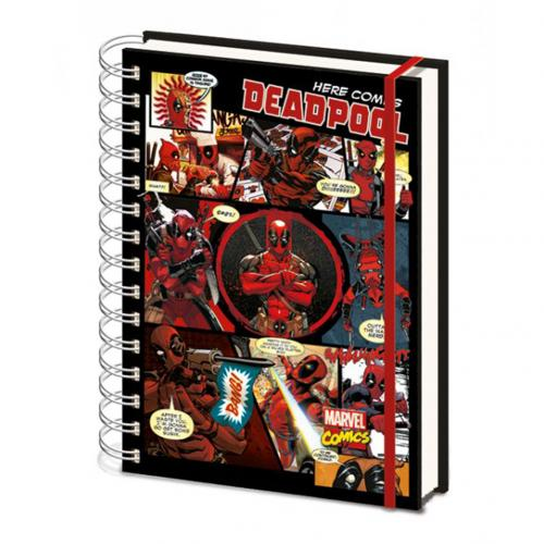 Deadpool A5 Notebook