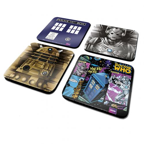 Doctor Who Coaster Set