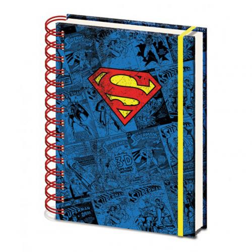 Superman A5 Notebook