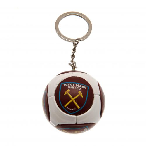 West Ham United F.C. Football Keyring