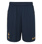 2016-2017 Tottenham Away Football Shorts (Navy)