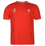 Switzerland UEFA Euro 2016 Core T-Shirt (Red)