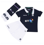2016-2017 Scotland Macron Home Rugby Mini Kit