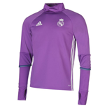 2016-2017 Real Madrid Adidas Training Top (Purple)