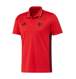 2016-2017 Benfica Adidas Polo Shirt (Red)
