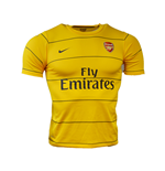 2003-2004 Arsenal Pre-Match Training Shirt (Gold) - Kids