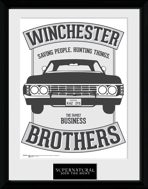 Supernatural Winchester Framed Collector Print