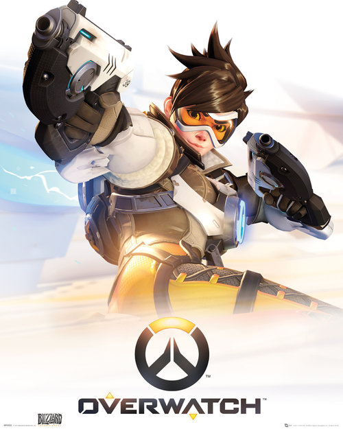 Overwatch Key Art Mini Poster