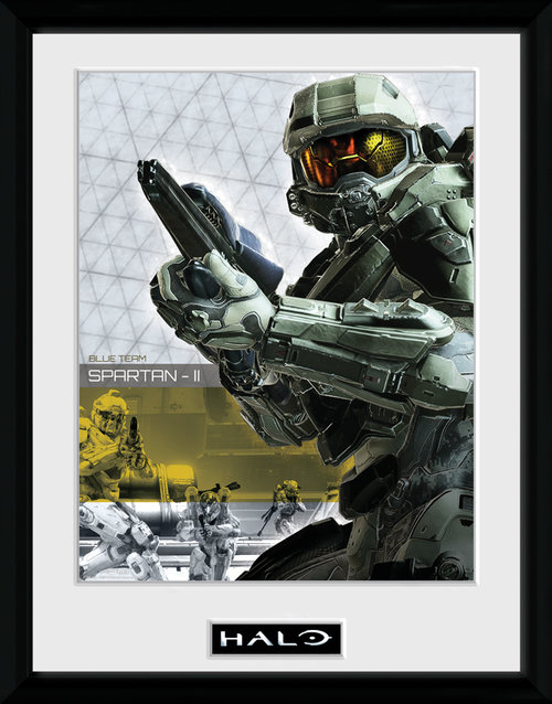 Halo Spartan Framed Collector Print