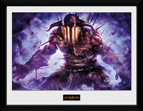 God of War Hades Framed Collector Print