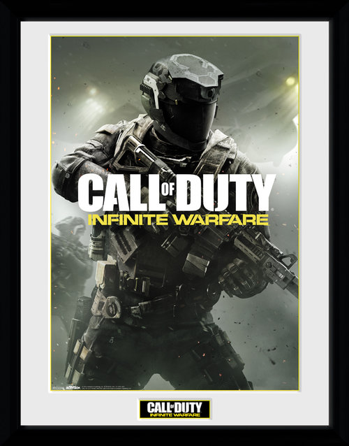 Call of Duty Infinite Warfare New Key Art Framed Collector Print