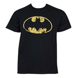BATMAN Distressed Logo Tee Shirt