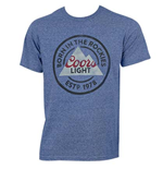 COORS Light Born In The Rockies Tee Shirt