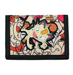 POKEMON Meowth Velcro Wallet