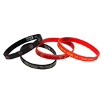 Deadpool 4 Piece Rubber Bracelet Set
