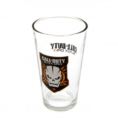 Call Of Duty Large Glass Black Ops 3