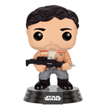 Star Wars Episode VII POP! Vinyl Bobble-Head Figure Poe Dameron (Resistance) 9 cm