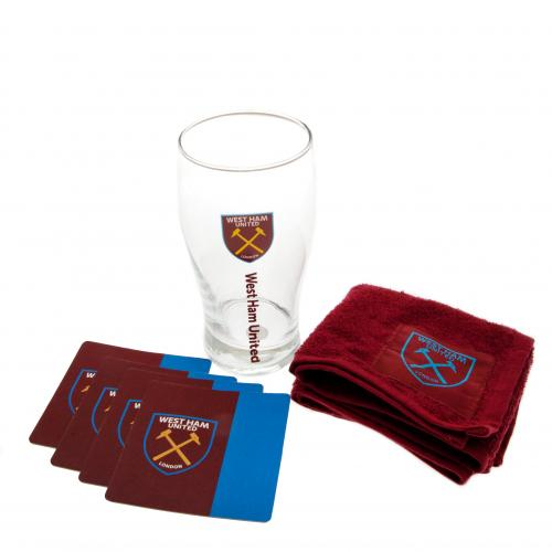 West Ham United F.C. Mini Bar Set