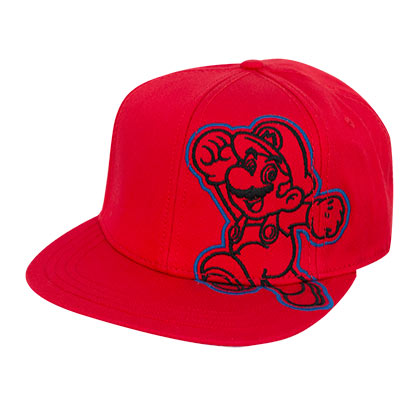 Super MARIO Red Embroidered Hat