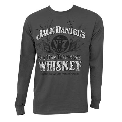 JACK DANIELS Long Sleeve Whiskey Shirt