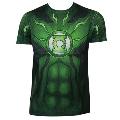 GREEN LANTERN Sublimated Costume Tee Shirt