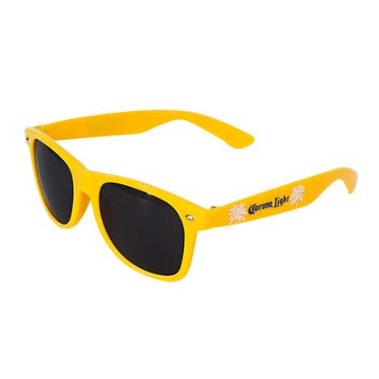 Corona Light Yellow Wayfarer Sunglasses