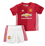 2016-2017 Man Utd Adidas Home Baby Kit
