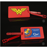 DC Comics Q-Tag Luggage tag Wonder Woman
