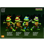 Teenage Mutant Ninja Turtles Hybrid Mini Metal Action Figure 4-Pack 7 cm