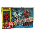 Marvel Retro Action Figure Deadpool Limited Edition Collector Set 20 cm