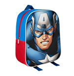 Marvel Comics 3D Backpack Captain America