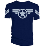 Marvel Comics T-Shirt Captain America Super Soldier Uniform